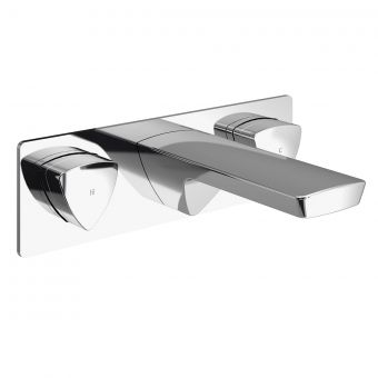 Bristan Bright Wall Mounted Basin Mixer Tap