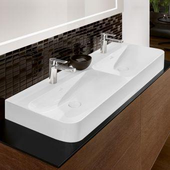 Villeroy and Boch Finion Double Bathroom Sink - 4139D5R1