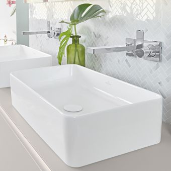 Villeroy and Boch Collaro Rectangular Countertop Basin
