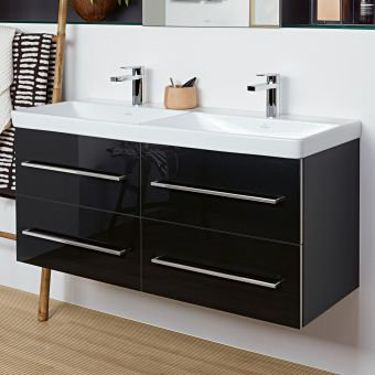 Villeroy and Boch Avento XL Twin Vanity Unit