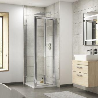 Simpsons Supreme Bifold Shower Door Uk Bathrooms
