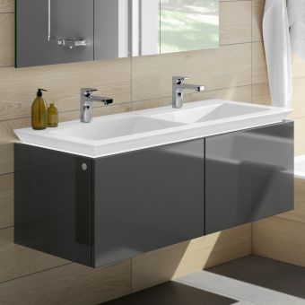Villeroy and Boch Legato XL Twin 2 Drawer Vanity