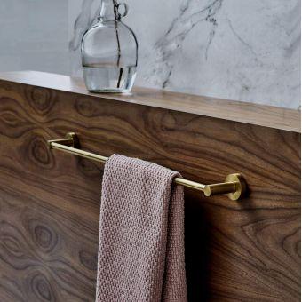 Britton Hoxton 600 Single Towel Rail