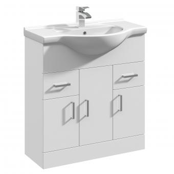 UK Bathrooms Essentials Newby Large Vanity Unit