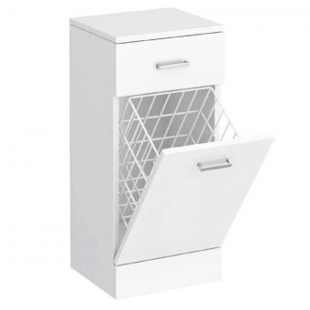 UK Bathrooms Essentials Newby 350mm Laundry Cabinet