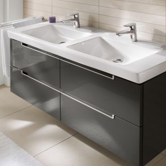 Villeroy and Boch Subway 2.0 XL Twin 4 Drawer Vanity