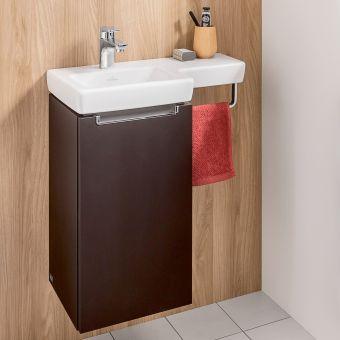 Villeroy and Boch Subway 2.0 Offset Cloakroom Vanity - 41156L01