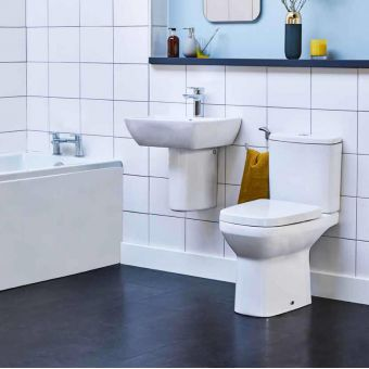 Britton MyHome Close Coupled Open Back Toilet
