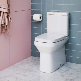 Britton MyHome Close Coupled Back to Wall Toilet
