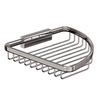 Britton Large Corner Wire Soap Basket