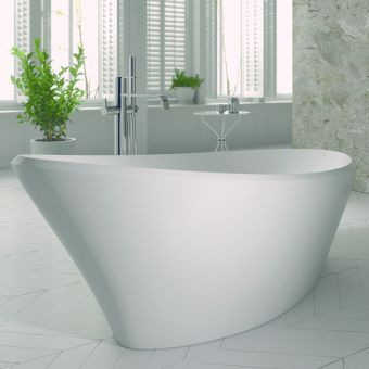 Ramsden & Mosley Cara Freestanding Elliptical Bath