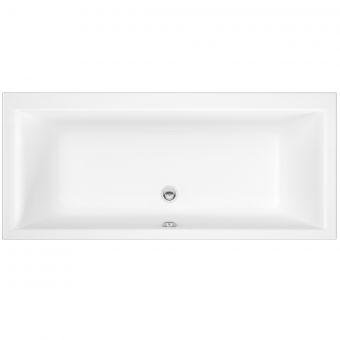 UK Bathrooms Essentials Poppy Double Ended Bath
