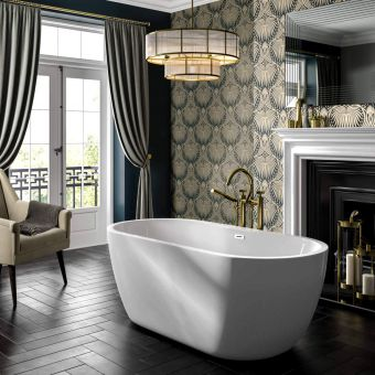 Trojan Alcora Freestanding Double Ended Bath