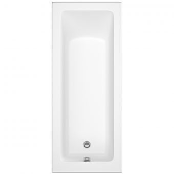UK Bathrooms Essentials Daisy 1700mm Single Ended Bath