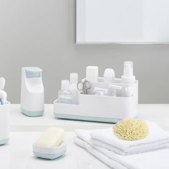 Joseph Joseph Soap Pump And Bathroom Organiser Caddies Pack