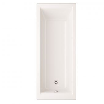 UK Bathrooms Essentials Orchid Single Ended Bath