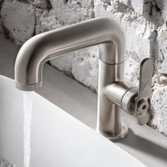 Crosswater Union Brushed Nickel Basin Tap
