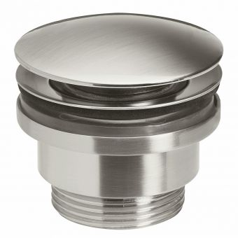 Crosswater Union Brushed Nickel Universal Click Clack Waste - UB0260L