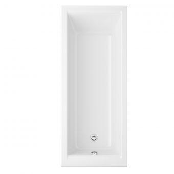 UK Bathrooms Essentials Orchid 1500mm Single Ended Bath - UKBESB00014