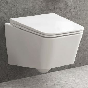 VitrA Equal Rimless Wall Hung Toilet