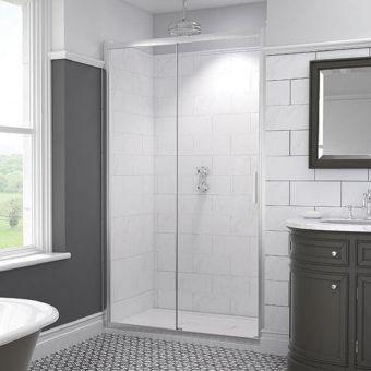 Kudos Original6 Straight Sliding Shower Door - 603020