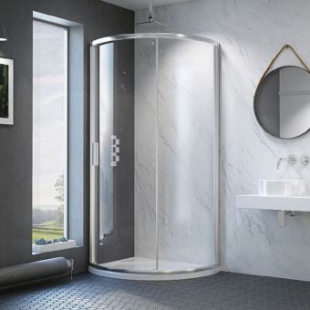 Kudos Original6 Offset Quadrant Sliding Shower Door