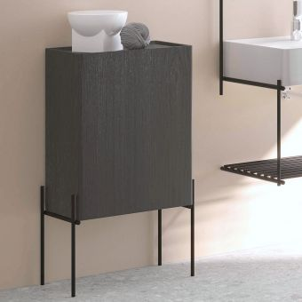 VitrA Equal 1 Door Bathroom Cupboard