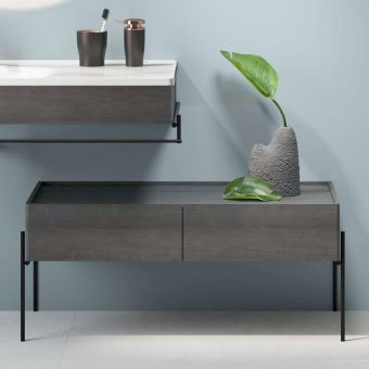 VitrA Equal 2 Drawer Double Lower Storage Unit
