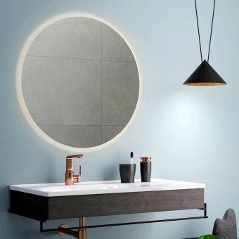 VitrA Equal Illuminated Round Mirror