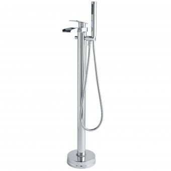 UK Bathrooms Essentials Laing Floor Standing Bath Shower Mixer