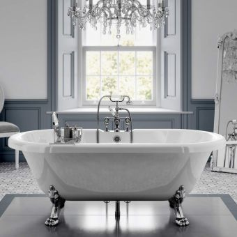Trojan Clermont Double Ended Freestanding Victorian Bath - B002333