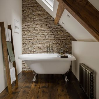 Trojan Uppingham Single Ended Victorian Freestanding Bath - B002334