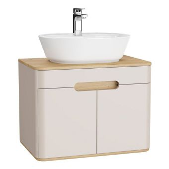 VitrA Sento 2 Door Medium Vanity Unit for Washbowls