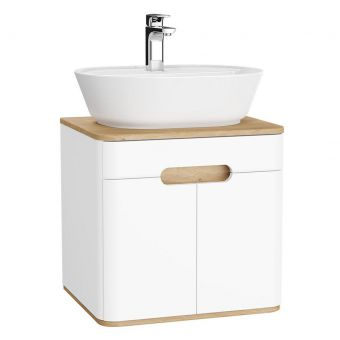 VitrA Sento 2 Door Small Vanity Unit for Washbowls