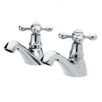 UK Bathrooms Essentials Spence Traditional Bath Taps