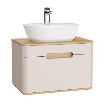 VitrA Sento 1 Drawer Medium Vanity Unit for Washbowls