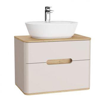 VitrA Sento 2 Drawer Medium Vanity Unit for Washbowls - 62367