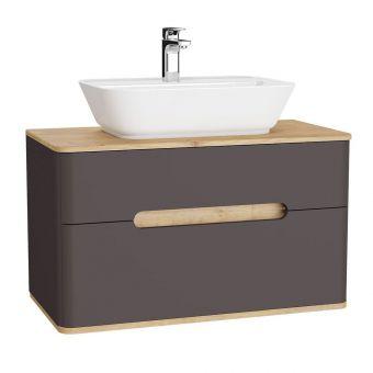 VitrA Sento 2 Drawer Large Vanity Unit for Washbowls - 62372
