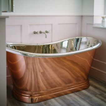 BC Designs Copper/Nickel Double Ended Boat Bath