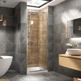 Kudos Pinnacle 8 Centrefold Door Shower Enclosure