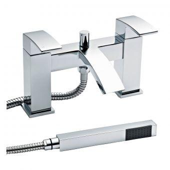 UK Bathrooms Essentials Titian Bath Shower Mixer Tap