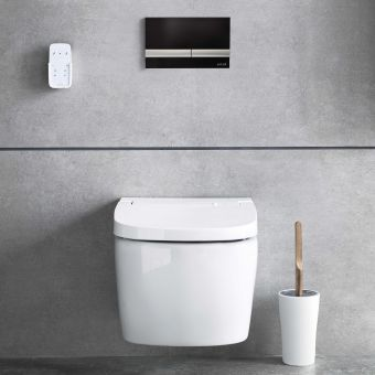 VitrA V-Care Essential Intelligent Rimless Wall Hung WC - 56740036103