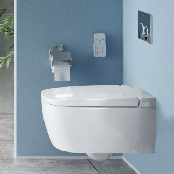 VitrA V-Care Comfort Intelligent Rimless Wall Hung WC