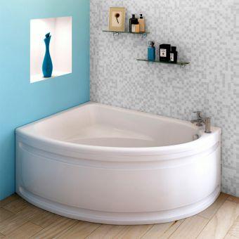 Trojan Orlando Offset Corner Bath