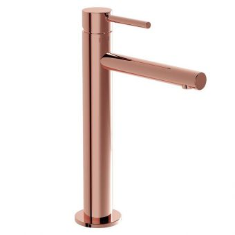 VitrA Origin Copper Tall Basin Mixer Tap - 4255726