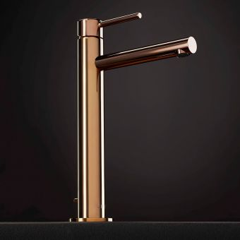 VitrA Origin Copper Extra Tall Basin Mixer