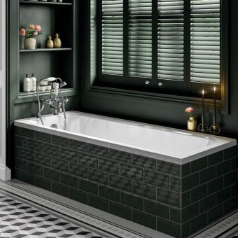 Trojan Art Deco Single Ended Bath