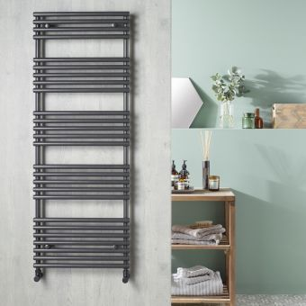 Origins TT Anthracite Designer Towel Rail