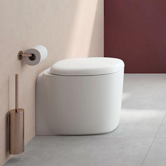 VitrA Origin Copper Wall Mounted Toilet Brush - 4489426