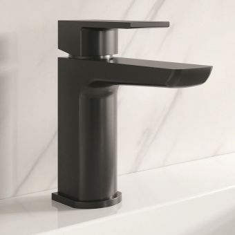 Origins Black Basin Mixer Tap